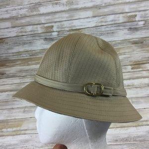 BURBERRY'S - WOMEN'S SIZE MEDIUM - TAN BUCKET HAT